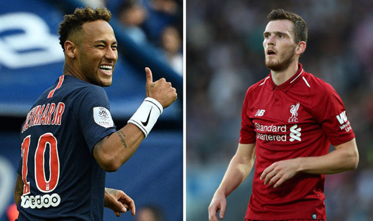 Robertson gives brilliant answer to Neymar diving question
