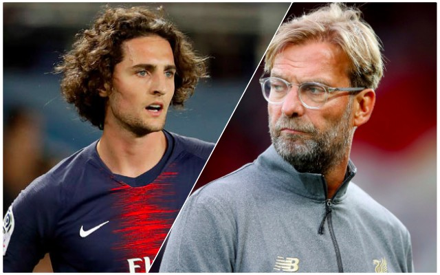 Laurens: Klopp talks with Rabiot 'positive'; January deal possible