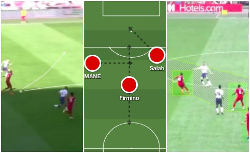 Tactical PROOF Mane made correct decisions defensively & offensively v Spurs