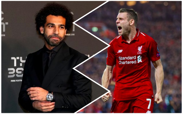 Even Mo Salah's Liverpool team-mates are laughing at Puskas Award