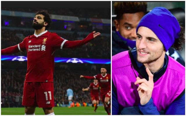 Rabiot was blown away by Anfield's atmosphere v City in Champions League