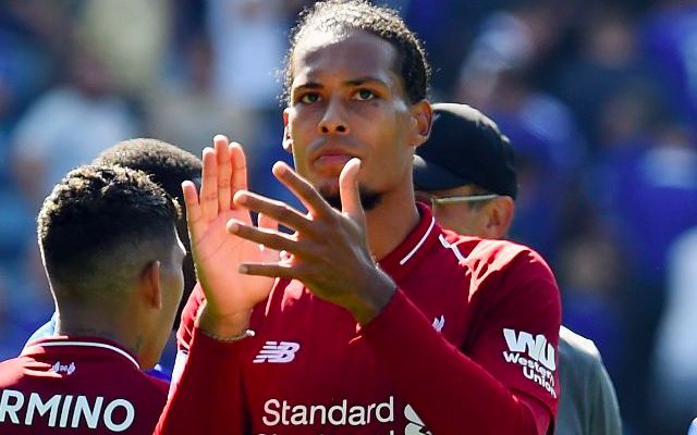 'They are not real Liverpool fans…' Bullish VVD reacts to question before Napoli clash