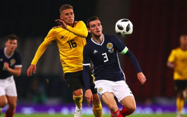 Robertson explains why he played badly for Scotland