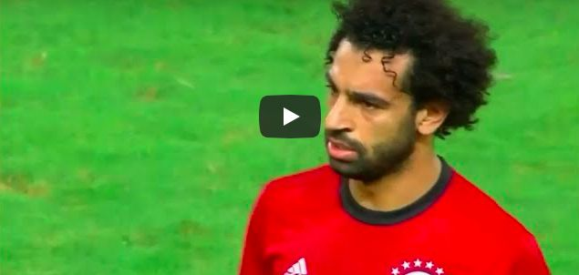 (Video) Mo Salah scores two & misses two penalties in eventful night with Egypt