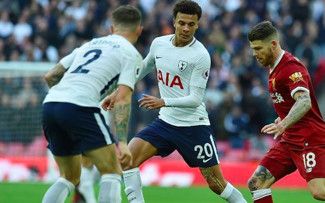 Spurs announce four injuries on eve of Liverpool clash; Alli included