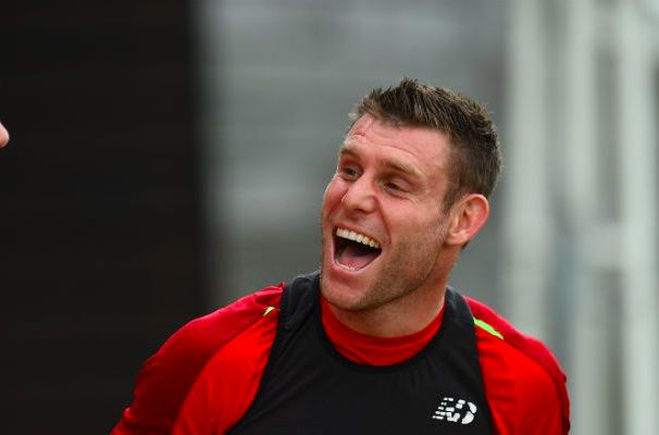 (Video) Milner shows leadership qualities during intense Liverpool training