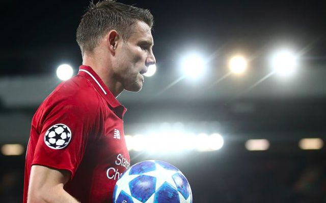 Klopp: why James Milner will miss Newcastle clash