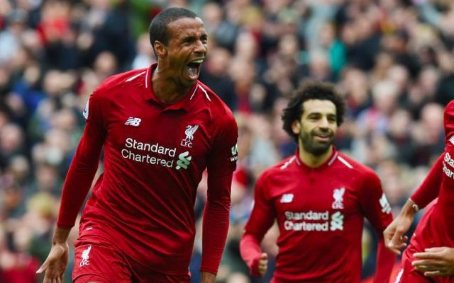 Matip vows to continue running the ball out from the back