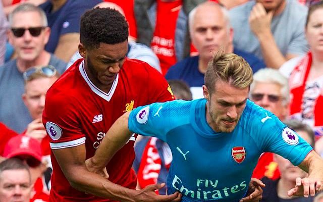 There's been a strange twist in Liverpool's pursuit of Aaron Ramsey