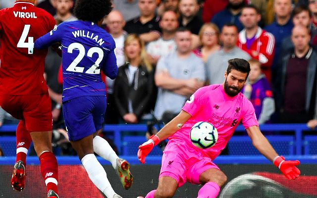Alisson labelled 'world class' by Liverpool teammate after Chelsea display