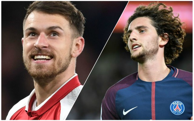 Seven Potential January Bosmans LFC could snare, including Rabiot & Ramsey
