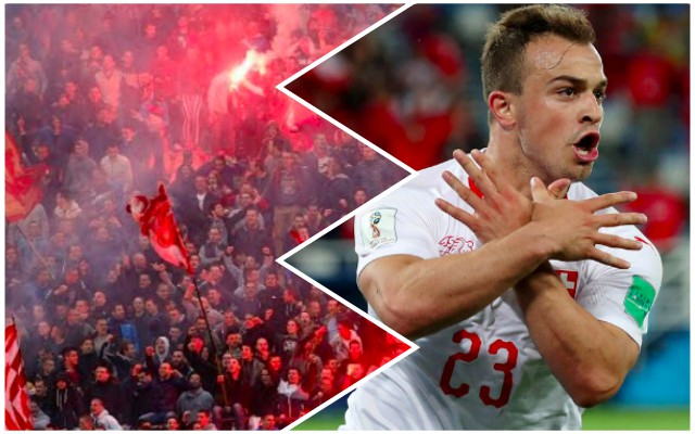 Red Star director says Shaqiri might bottle trip to Serbia; says fans will belittle him