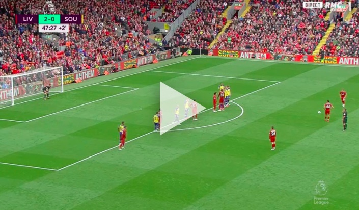 (Video) Salah gets much-needed goal after Shaqiri almost bags worldy