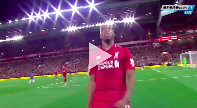 (Video) Sturridge scores bicycle kick to make up for open goal miss