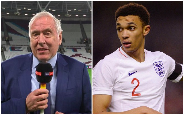 Tyler & Neville spoke nonsense about Trent Alexander-Arnold last night
