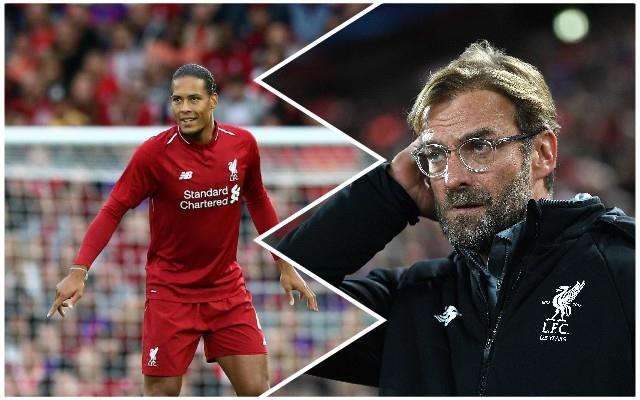 The latest from Klopp on Van Dijk's injury…