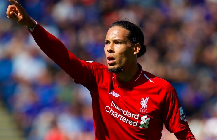 'He must be eating good food…' PL striker tries to explain Van Dijk