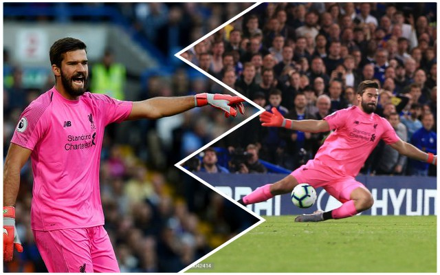 Italian press give their verdict on Alisson at LFC so far