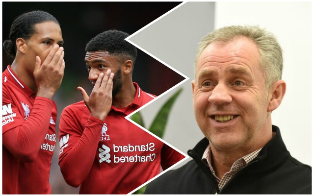 Jim Beglin makes bold claim about Van Dijk and Gomez