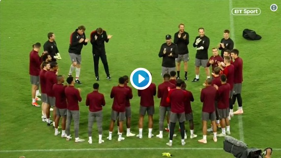 'That was bizarre…' Klopp's post-training chanting explained