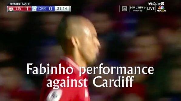 (Video) Fabinho's highlights are worth watching… again