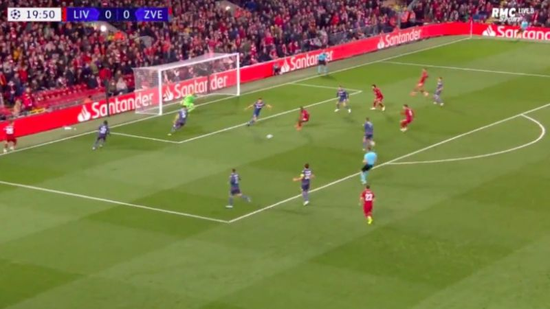 (Video) Firmino bags after Shaqiri shows amazing creativity centrally