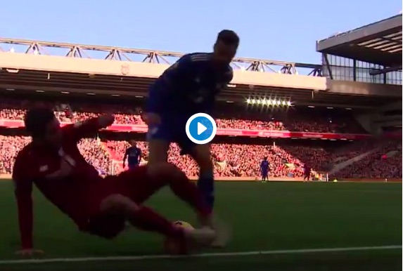 (Video) Better angle of Firmino's back-heel nutmeg surfaces & it's incredible