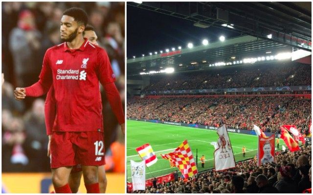 (Video) Joe Gomez has his own song and it'll ring around Anfield for years