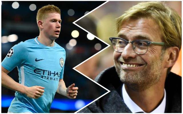 Klopp takes surprise stance on Kevin de Bruyne injury return
