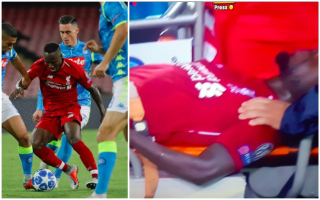 'Horrible…' 'Raging' LFC fans react to Keita's 15 minutes and nasty injury