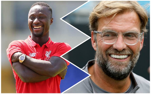 Jurgen Klopp explains the reasons for Keita's inclusion vs. Napoli