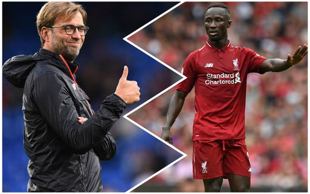 """Masterclass incoming!"": LFC fans react to news Keita starts in Naples"