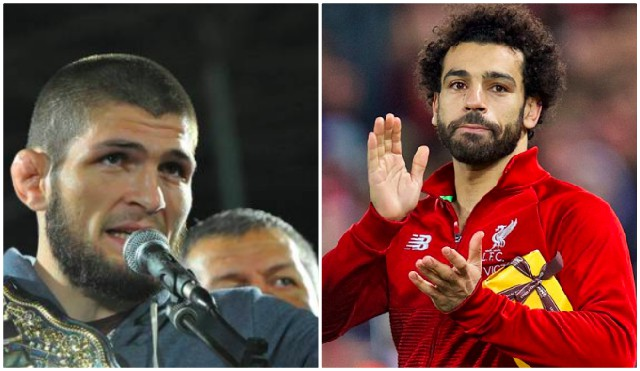 UFC star Khabib makes brilliant Mo Salah declaration