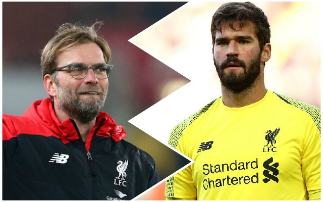 Alisson reveals how he became a goalkeeper