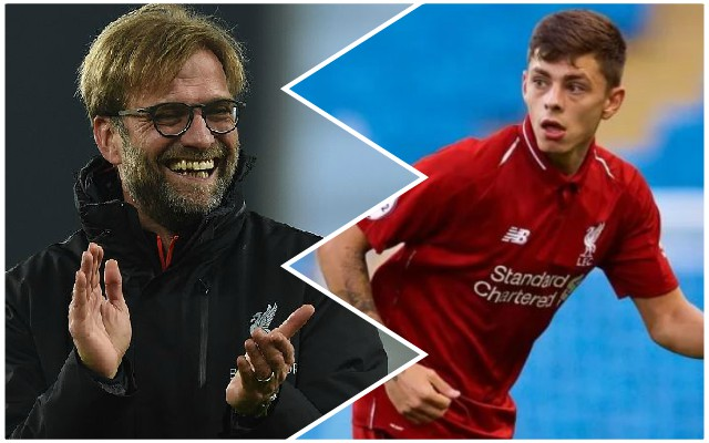 Adam Lewis reveals Jurgen Klopp's message to LFC's under-23s