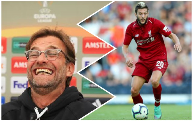 Klopp laughs off suggestion of 'jealousy' in Reds squad