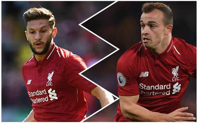 'Seize your chance!': Reds fans react as Shaqiri and Lallana start
