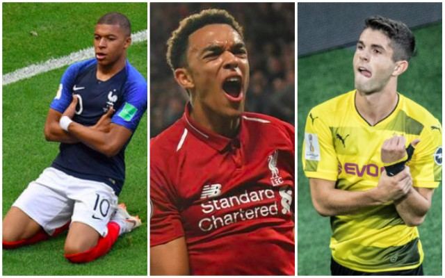 Ten man shortlist for 'Mini Ballon d'Or' named