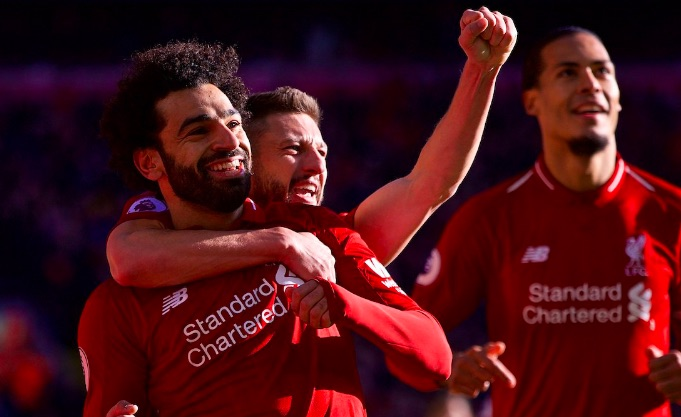 Liverpool fans love how Salah celebrated goal v Cardiff
