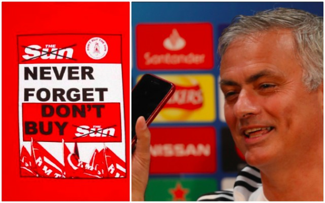 Mourinho takes on the S*n, and Liverpool should support him