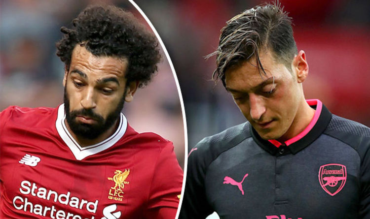 Mad Salah v Ozil stat goes viral ahead of Arsenal v Liverpool