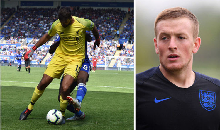 'I won't blunder like Alisson…' Reds laugh on Twitter after Pickford's nightmare