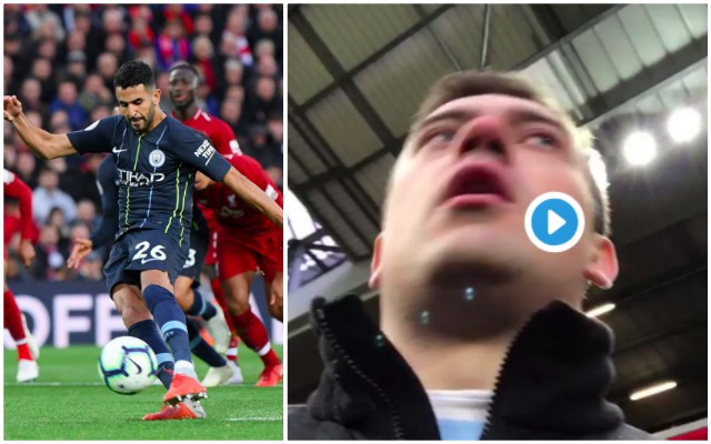 City fan filmed himself at Anfield and it all went horribly wrong…