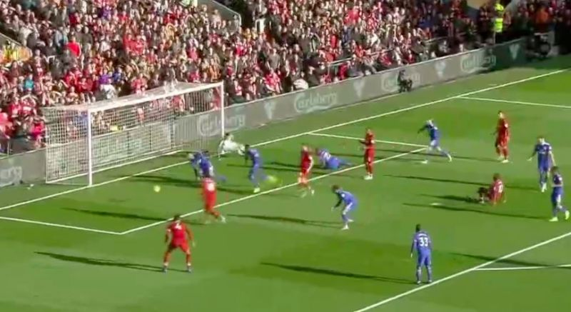 (Video) Mo Salah finishes clinically for 7th of the season