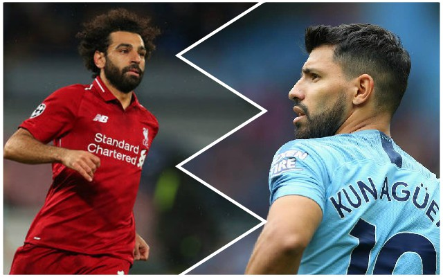 City boss Guardiola makes interesting Mo Salah vs. Sergio Aguero claim