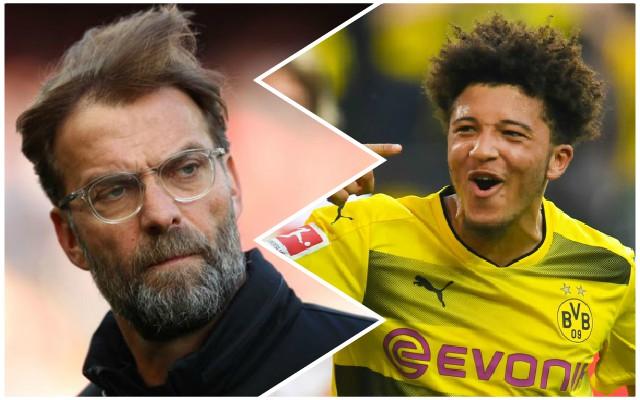 Klopp admits big interest in Jadon Sancho: 'Can we get him…?'
