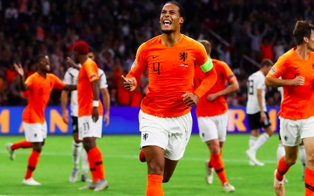 Virgil van Dijk returning to Liverpool after injury setback with Netherlands