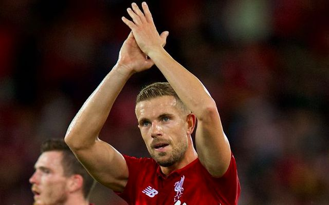 One LFC player comes out with massive credit… & he isn't even on the pitch