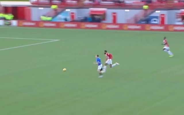 (Video) Liverpool loanee scores in 100th game with classy finish