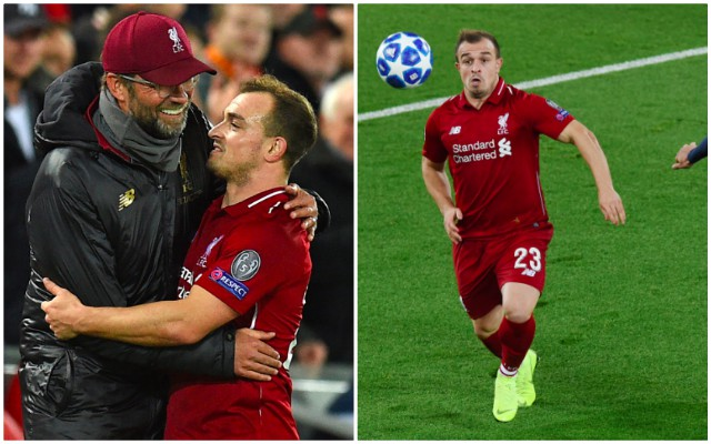 (Video) Watch Shaqiri's best bits at no.10 v Red Star